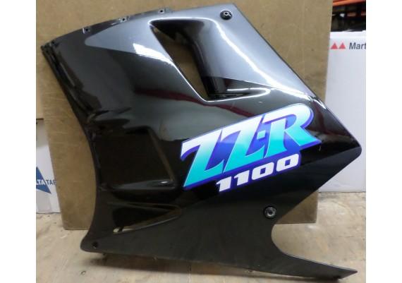 Zijkuip links zwart/antraciet ZZR 1100