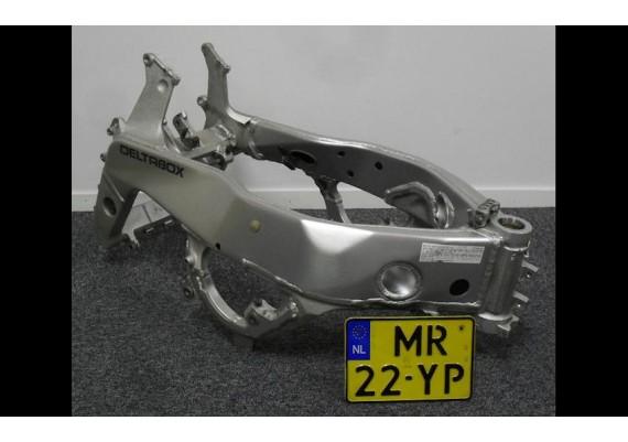 Frame met kenteken FZR 1000