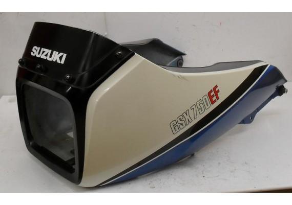 Topkuip blauw/wit GSX 750 EF