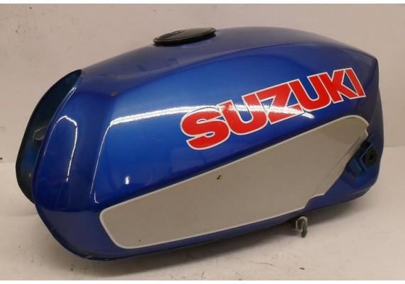 Tank blauw/zilver GSX 750