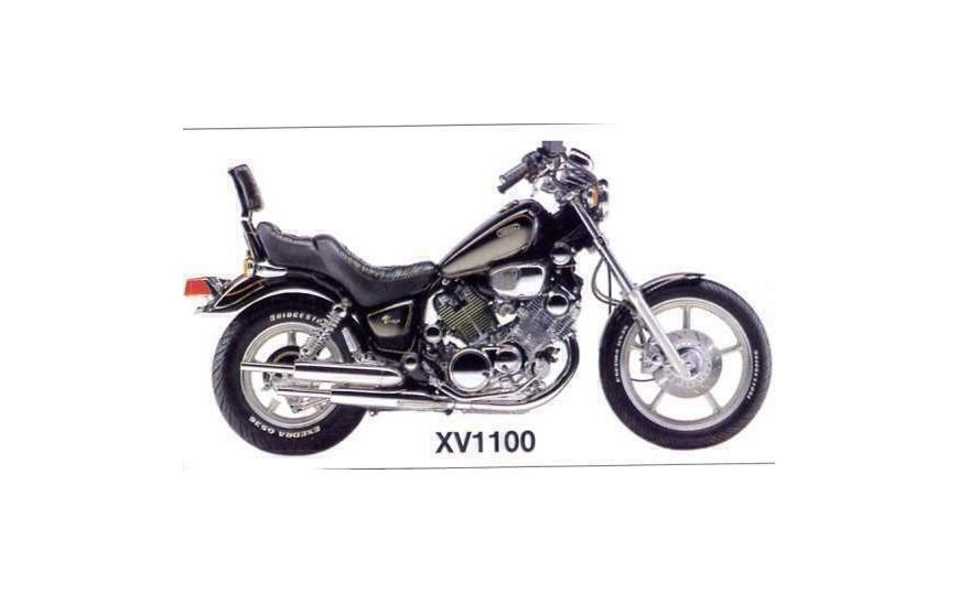 XV 1100 Virago