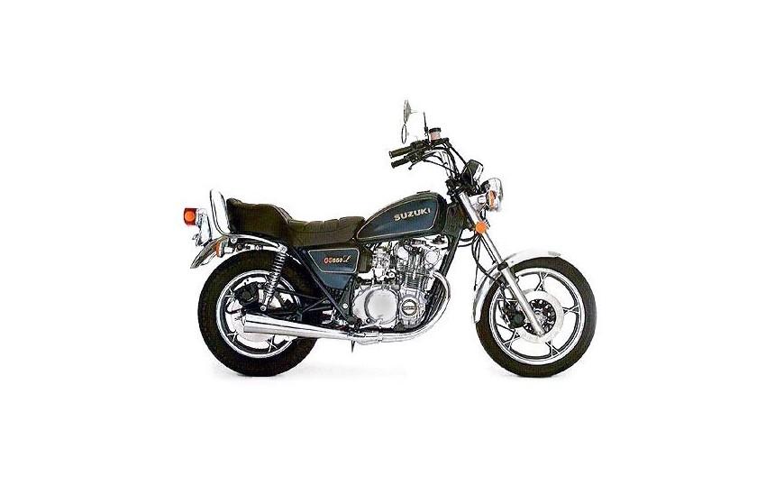 GS 550 L GN72L 1983