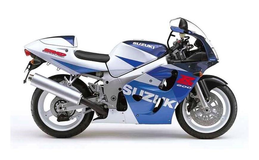 GSX R 600 1996-2000