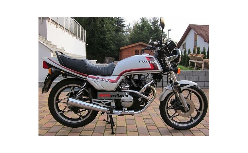 CB 450 N PC14 1985-1989