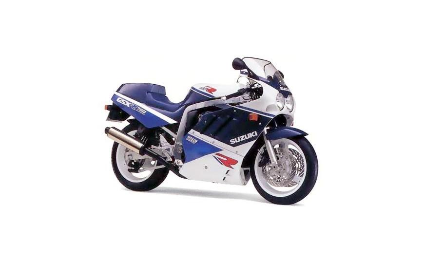 GSX-R 750 (GR77A) 1985-1989